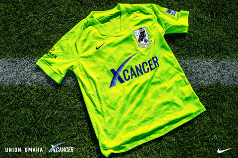 Union Omaha 2021 Official Game Jersey - Volt - Adult