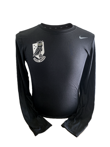 Union Omaha Men's Nike Official Black L/S Training Top