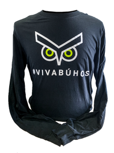 Union Omaha Women's Nike Black #VIVABUHOS L/S Core Cotton Tee