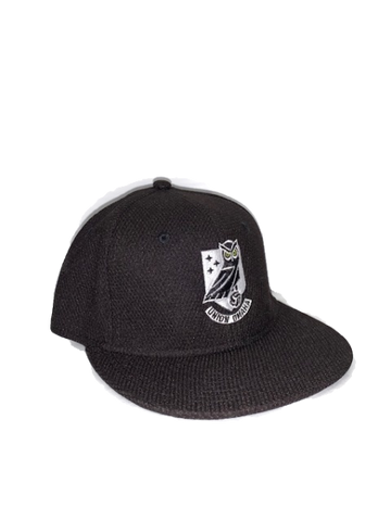 Union Omaha OC Black Mesh Crest Flex Fit Hat