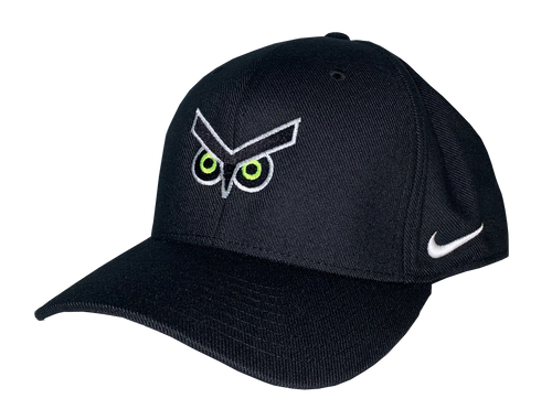 Union Omaha Nike Black Crest Eyes Adj. Hat