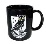Union Omaha 11oz Black Crest Coffee Mug