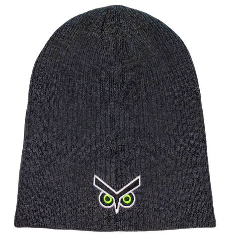 Union Omaha PH Grey Slouch Eyes Beanie