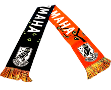Load image into Gallery viewer, Union Omaha Black/Orange Halloween Scarf