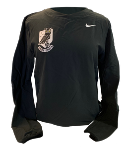 Union Omaha Women's Nike Black Crest Hybrid Top