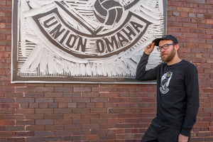 Union Omaha Men's Nike L/S Core Cotton Crew Tee