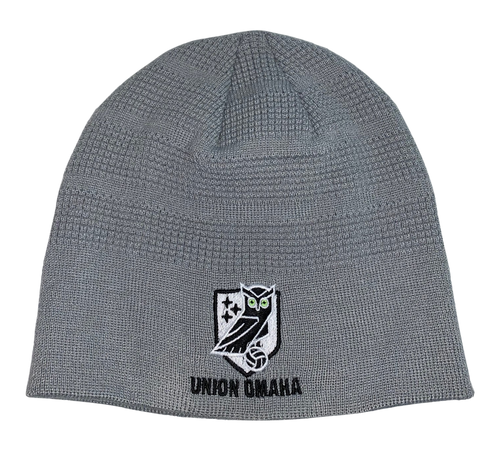 Union Omaha Pacific Headwear Grey Crest Beanie