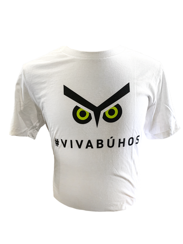 Union Omaha Men's White Eyes #VIVABUHOS Core Cotton Tee