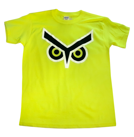 Union Omaha Youth BR Neon Yellow Basic Eyes Tee