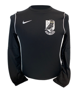 Union Omaha Youth Nike Black Dry Park Crest Crew