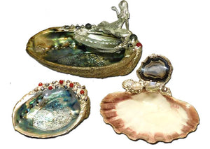 Shell Jewelry and Smudge Bowls