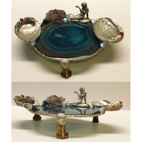 Mermaid amethsyt agate display table