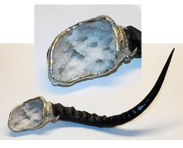 Geode scepter front view