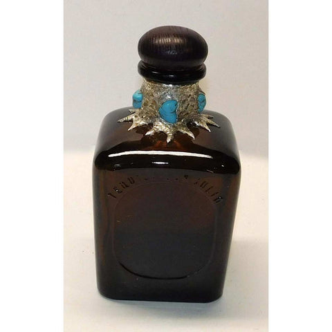 Don Julio decanter with turquoise nuggets