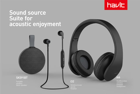 Havit S01BT Sound Suite 3 i 1 Sort