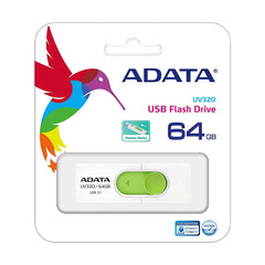ADATA UV320 64GB Sort/Blå USB3.1