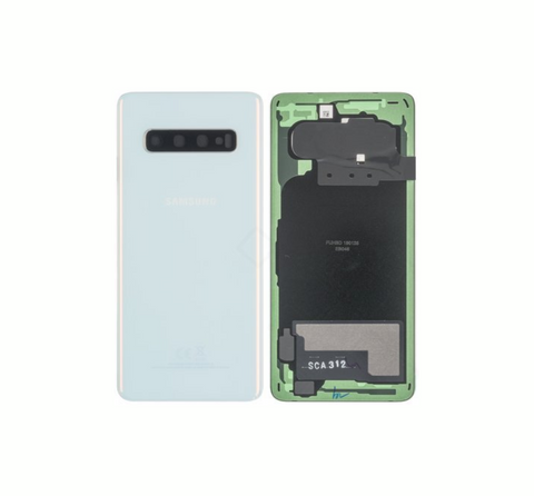 Galaxy S10 Back Cover White