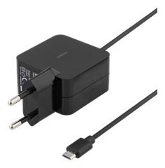 DELTACO Wall charger, 230V to 5V USB