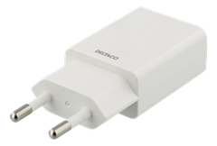 Wall Charger 100-240V to 5V USB, 1A, 5W, 1xUSB-A Port, White