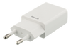 Image of Wall Charger 100-240V to 5V USB, 1A, 5W, 1xUSB-A Port, White