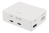 Image of USB-C Power hub Docking station, 45W USB-C PD, 4K HDMI, USB 3.1 Gen 1, hvid