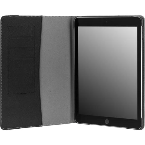 DELTACO Cover with Cardholder for iPad Air 2, Black