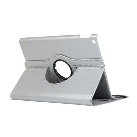 iPad 10.2 Litchi Texture Cover - Silver