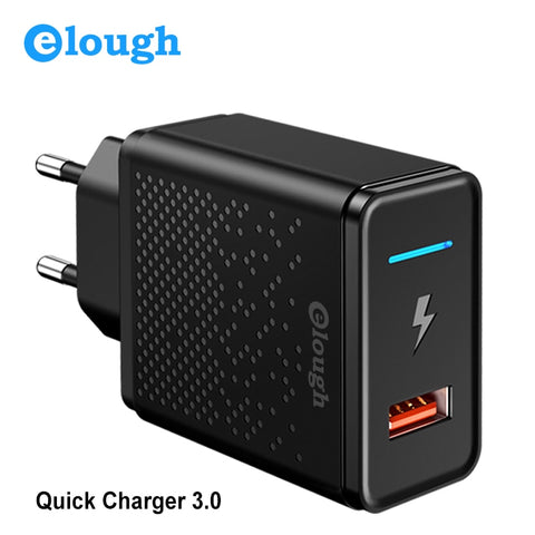 Elough 18W Quick Charge 3.0 4.0 USB Charger for Samsung Xiaomi Huawei iPhone