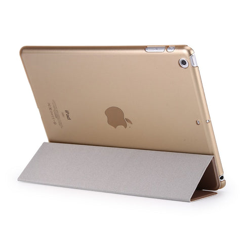 Tri-fold Cover for iPad 9.7 2017- Gold