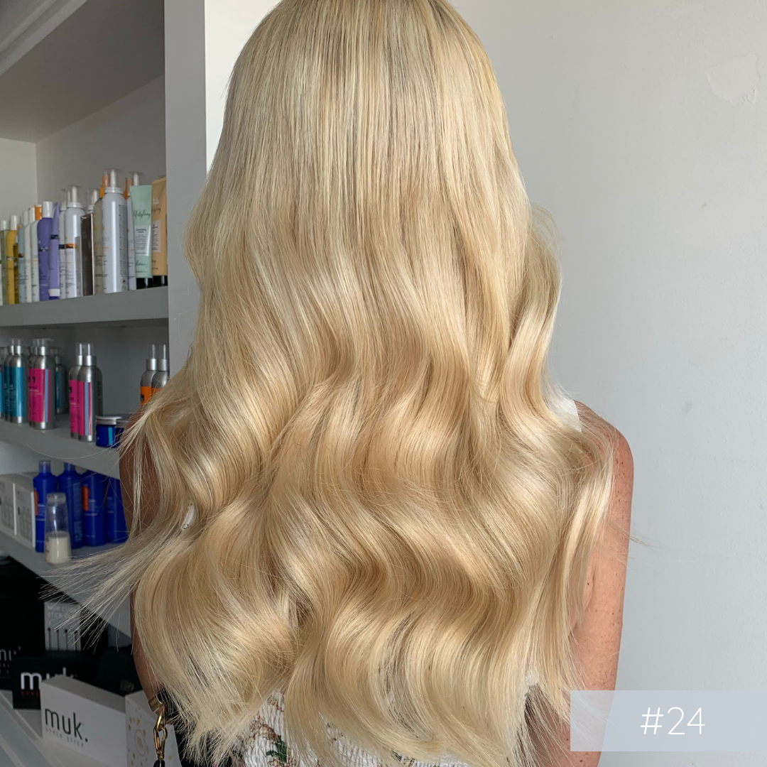 Clip In Hair Extensions #24 Sandy Blonde