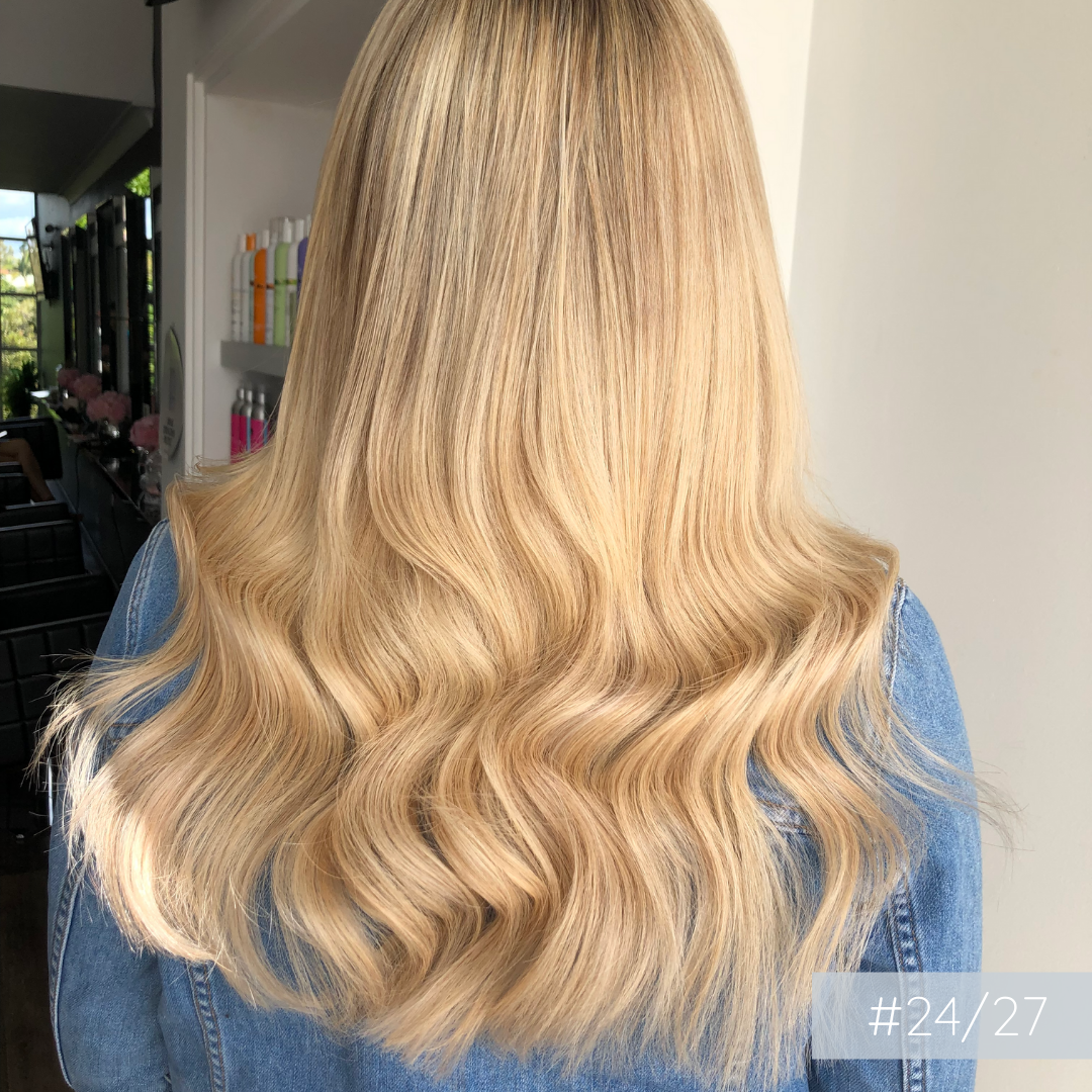 Clip In Hair Extensions #24/27 | Strawberry Blonde