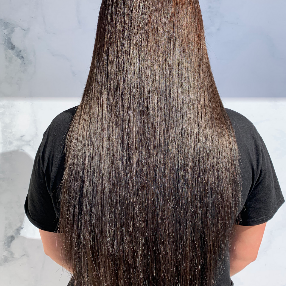Clip In Hair Extensions #2 Darkest Brown