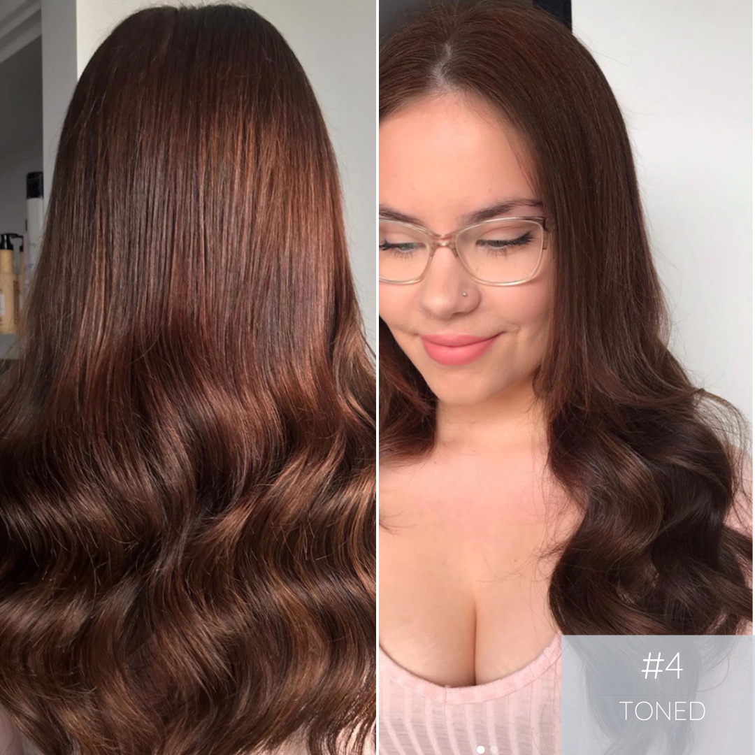 Clip In Hair Extensions #4 | Peanut Butter