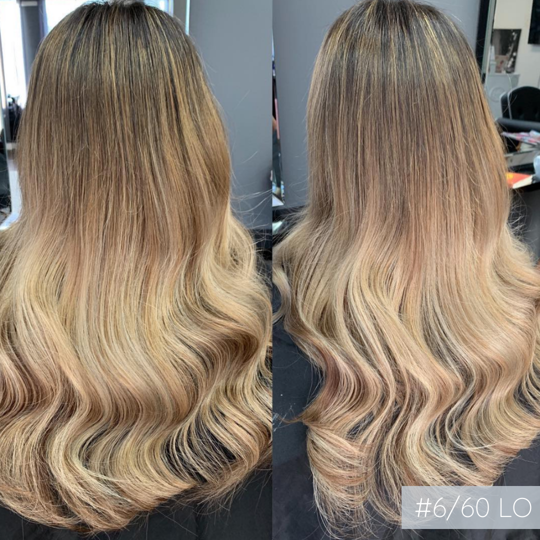 Weft #6/60 Light Ombre | European Hair Extensions