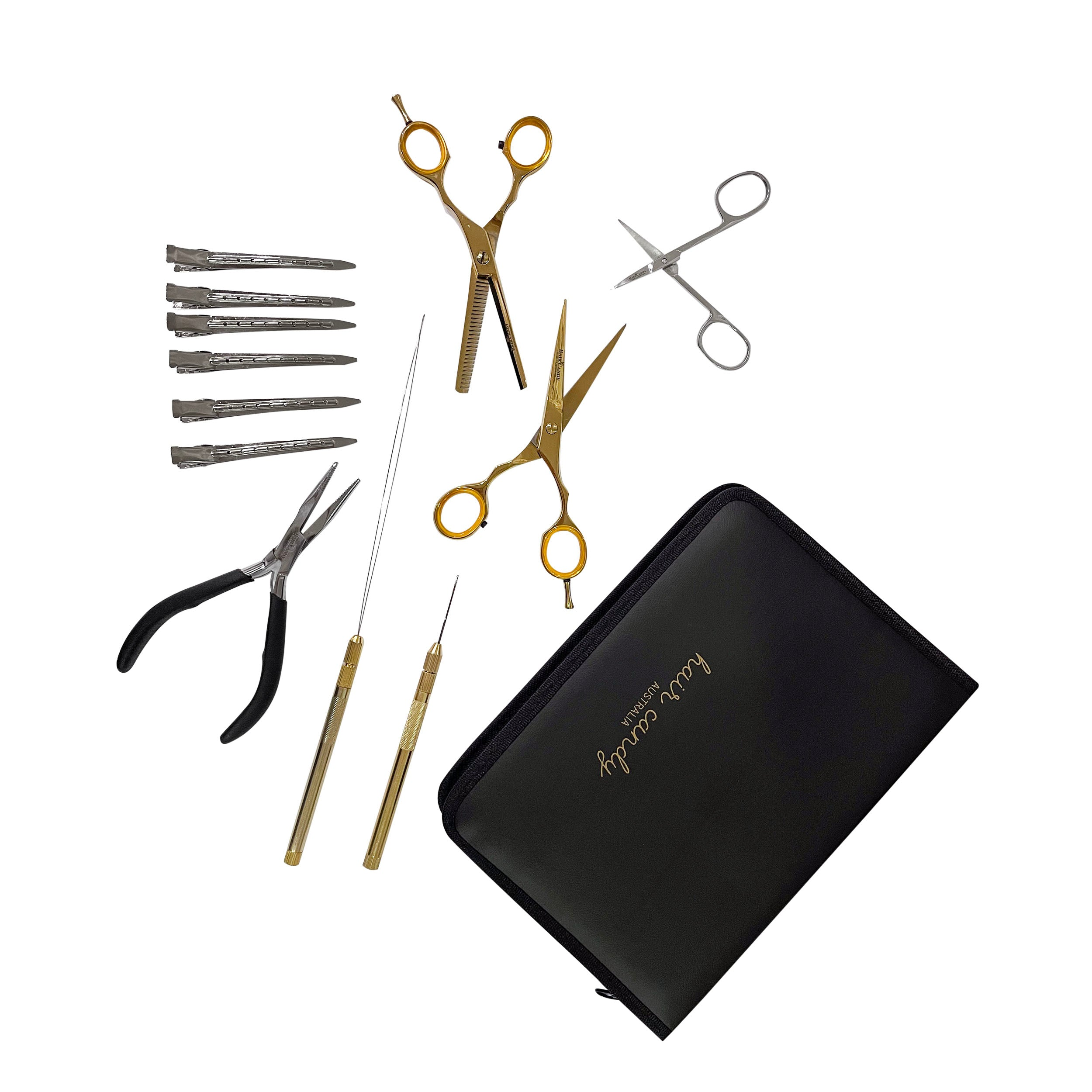 Deluxe Hair Candy Tool Kit - Vinyl Case