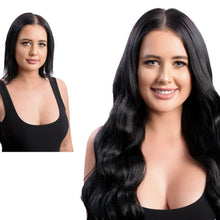 Keratin Bonds #1 Jet Black | European Human Hair Extensions