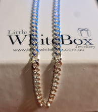 Load image into Gallery viewer, Sterling Silver Cut Curb Chain