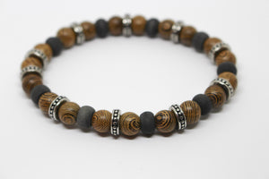 Blaze Ore STS Timber and Carbon Fibre Bracelet