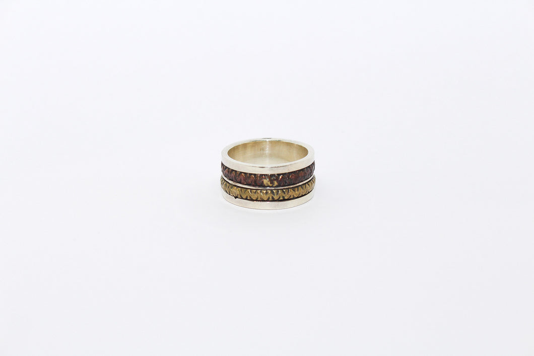 SS Three Tone Ring