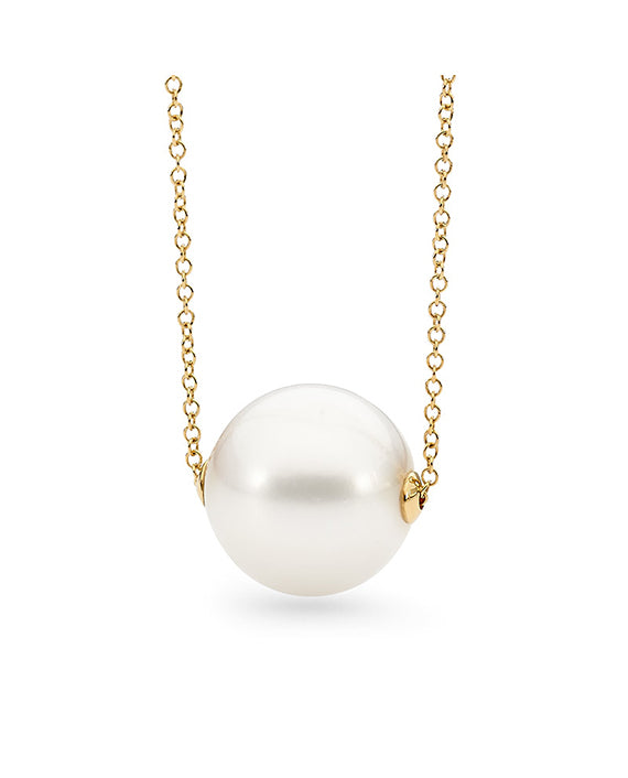 9ct Freshwater Pearl Chain Necklace