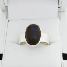 Load image into Gallery viewer, SS Labradorite Ring