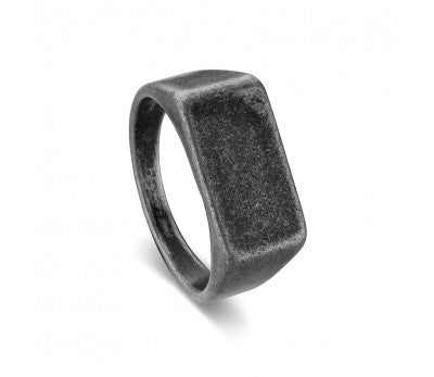 Blaze Ore Stainless Steel Signet Ring