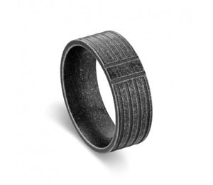 Blaze Ore Stainless Steel Ring