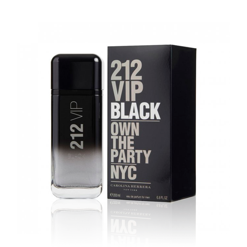 Carolina Herrera 212 Vip Black EDP 200 ml