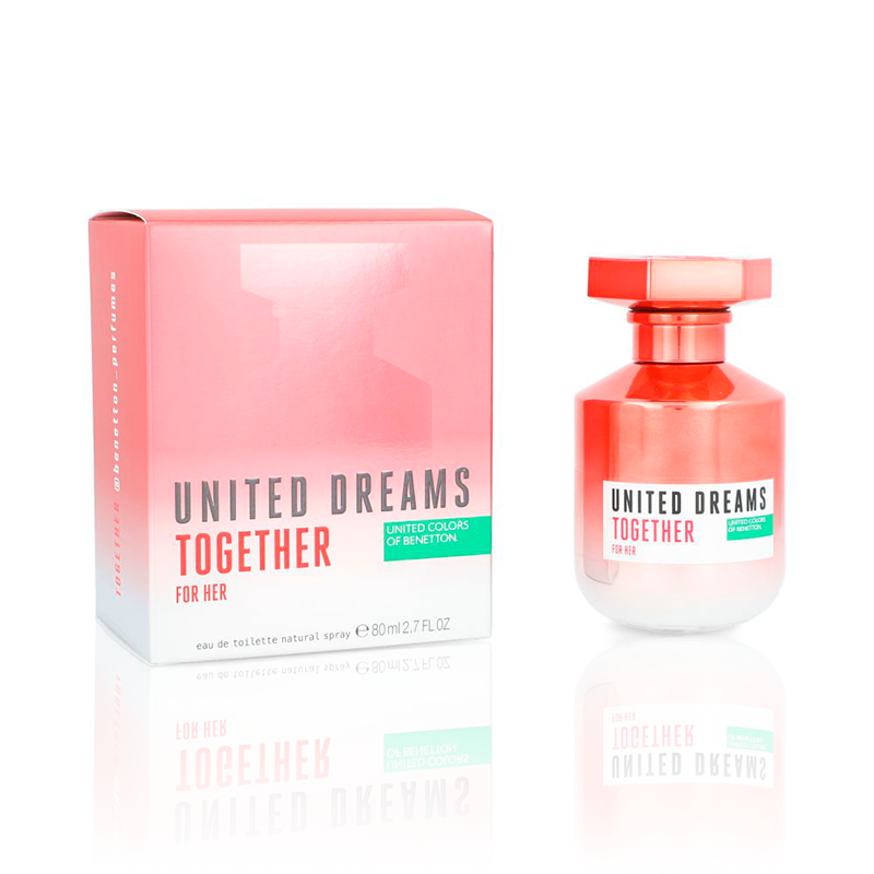 United Dreams Together For Her EDT 80ml.