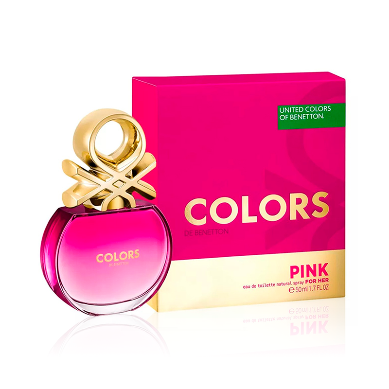 Colors Pink Blocks Edt 80 ml.