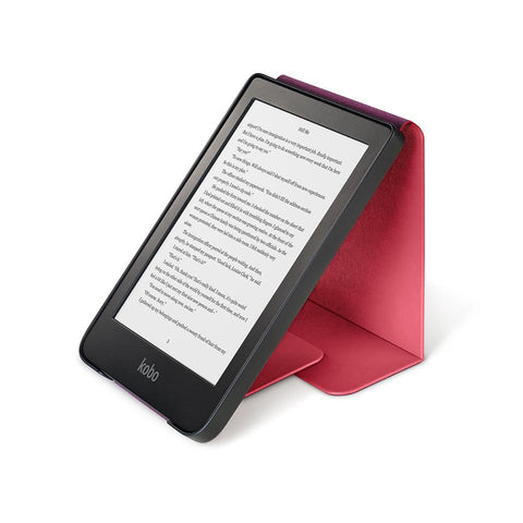 Kobo Clara HD with red SleepCover