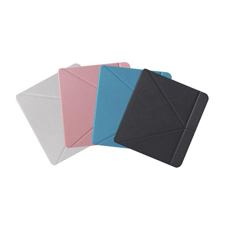 Kobo Libra H2O SleepCovers in white, pink, blue and black