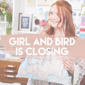Girl and Bird is closing - for good