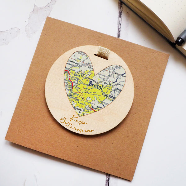 'Best in the world' NHS personalised map keepsake